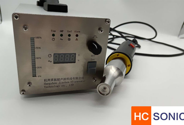 Compact Ultrasonic Welding Equipment Ultrasonic Spot Welder For Sound Absorbing Fleece